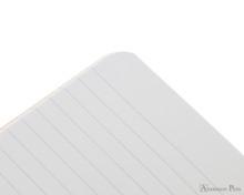 Rhodia Staplebound Notebook - A5, Lined - Orange lines detail