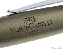 Faber-Castell Loom Ballpoint  - Metallic Olive Green - Imprint