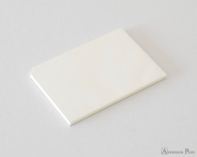 Midori MD Paper Pad A5 - Cotton, Blank - Open