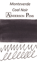 Monteverde Coal Noir Ink Color Swab