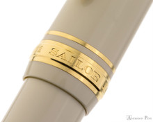 Sailor 1911 Standard Fountain Pen - Ivory with Gold Trim - Cap Band