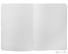 Rhodia  Staplebound Notebook - A5, Lined - Black open