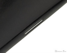 Rhodia  Staplebound Notebook - A5, Lined - Black staple binding detail