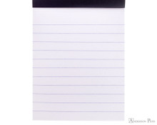 Rhodia No. 11 Staplebound Notepad - 3 x 4, Lined - Black lines detail