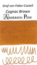 Graf von Faber-Castell Cognac Brown Ink Sample Color Swab