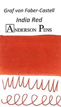 Graf von Faber-Castell India Red Ink Sample Color Swab