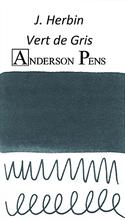 J. Herbin Vert de Gris Ink Color Swab