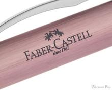 Faber-Castell Essentio Ballpoint - Aluminum Rose