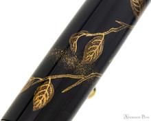 Namiki Yukari Maki-e Fountain Pen - Pigeon & Persimmon - Pattern 3