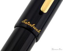 Esterbrook Estie Fountain Pen - Ebony with Gold Trim - Imprint