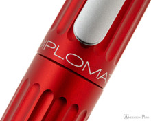 Diplomat Aero Fountain Pen - Red - Imprint