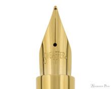 Sheaffer Intensity Fountain Pen - Matte Black with Gold Trim Nib