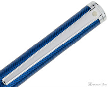 Sheaffer Intensity Ballpoint - Blue Lacquer with Chrome Trim Clip