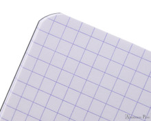 Rhodia Staplebound Notebook - 3 x 4.75, Graph - Black graph detail