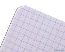 Rhodia Staplebound Notebook - 3 x 4.75, Graph - Black graph detail