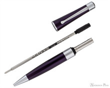 Cross Beverly Ballpoint - Deep Purple Lacquer with Chrome Trim