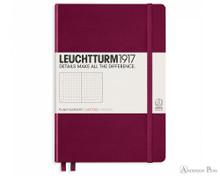 Leuchtturm1917 Notebook - A5, Dot Grid - Port Red
