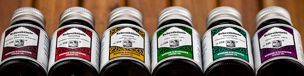 Rohrer and Klingner Bottled Ink