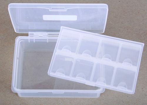 Tackle box x 2 clear
