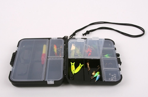 tackle box Compact black