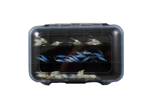 tackle box waterproof box w/compartments small