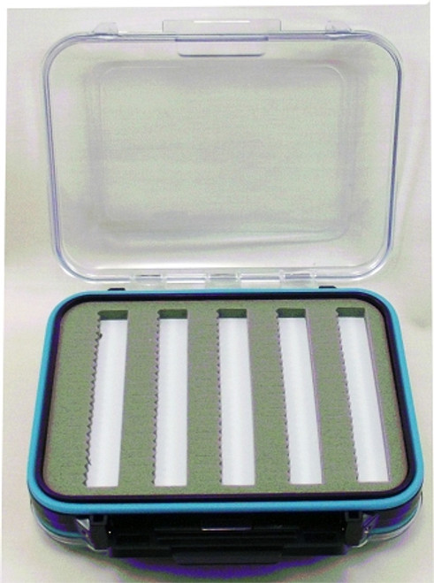 tackle box waterproof w/ foam/comp small