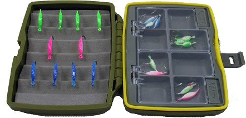 tackle box waterproof small box w/comp sealed/foam