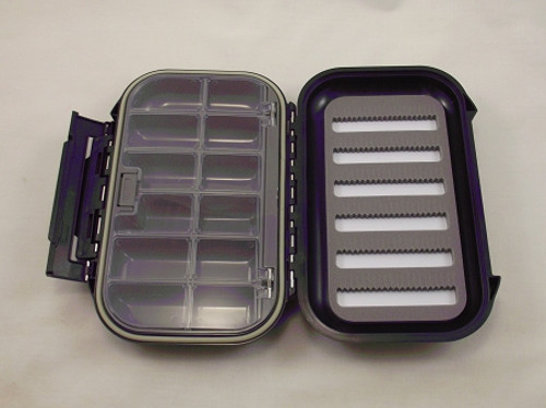 tackle box waterproof large box w/auto lid/foam slats