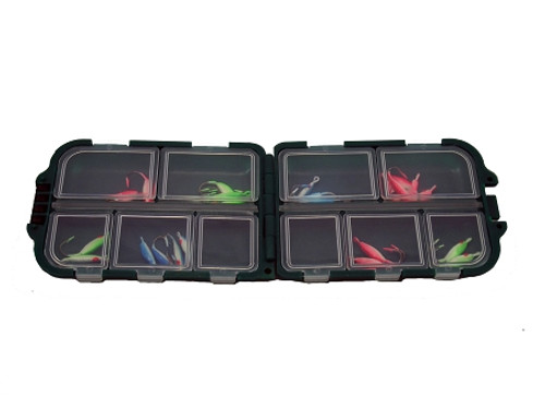 tackle box 10 sealed comp./folding