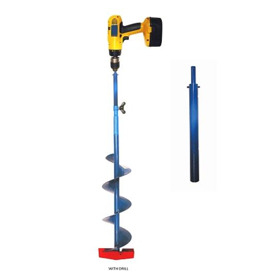 nimrod ice auger adapter 1/card