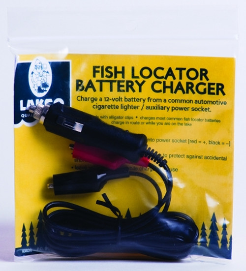 fish locator battery charger