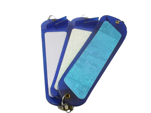 Inticer Flasher 2-fin blue series