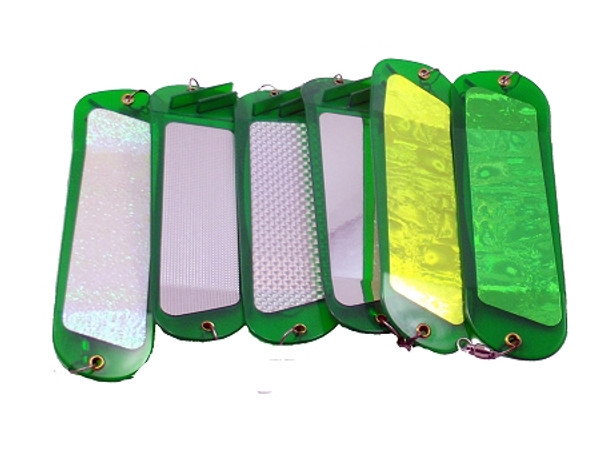 Inticer Flasher 2-fin green series