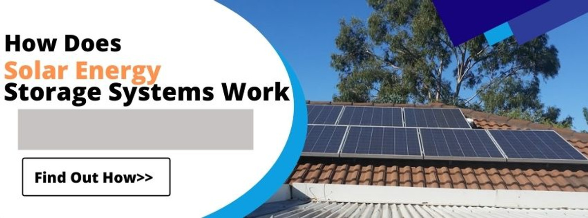 How Does Solar Energy Storage Systems Work