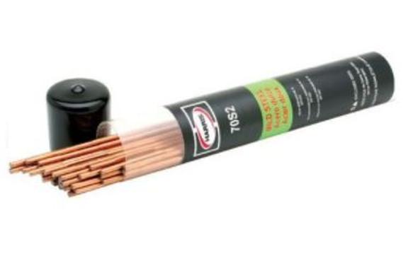 Harris ER70S-2 3/32 Diameter Mild Steel TIG Welding Wire 3# E70S2503POP