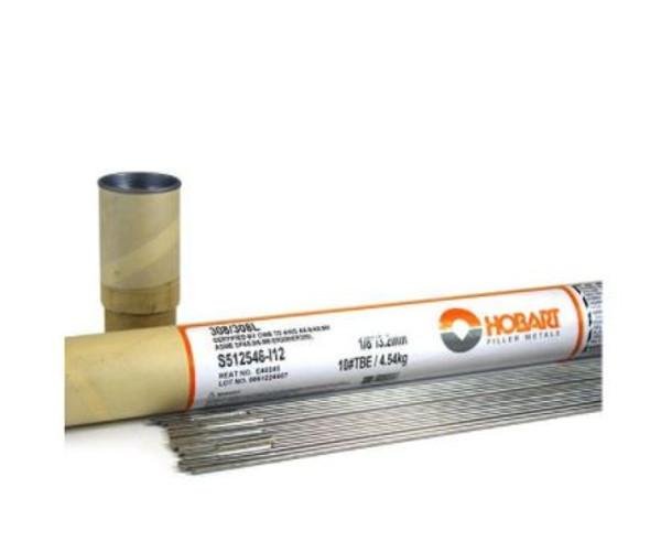 Hobart ER308/ER308L Stainless Steel TIG Welding Wire 1/8 Diameter