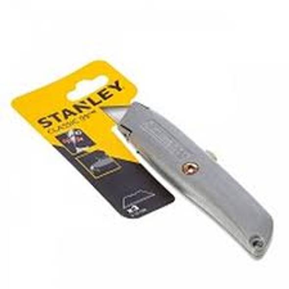 "RETRACTABLE KNIFE UTILITY  STANLEY ""ORIGINAL 99E""- 12"