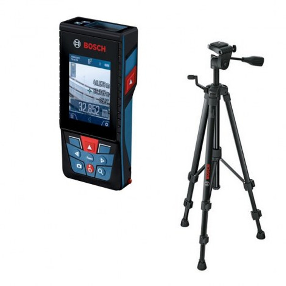 Bosch Professional Laser Measure Bosch GLM 120 C + BT 150