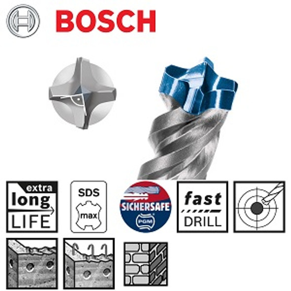 Bosch SDS-max-8X 28 x 200 x 320 mm
