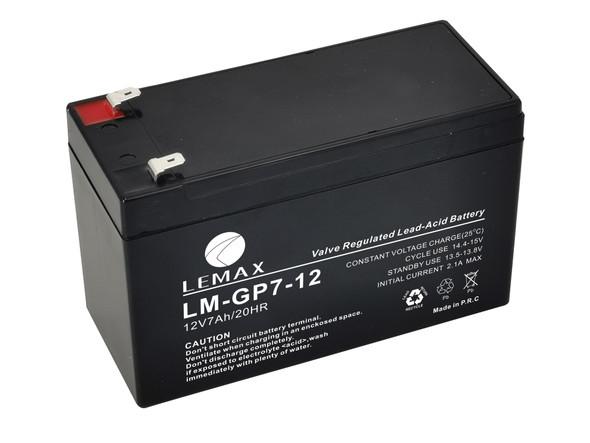 General Purpose Battery (GP) LM-GP- 12V7AH LEMAX