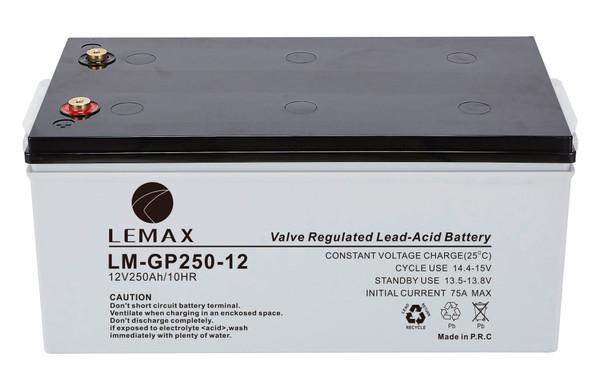 General Purpose Battery (GP) LM-GP- 12V250AH LEMAX