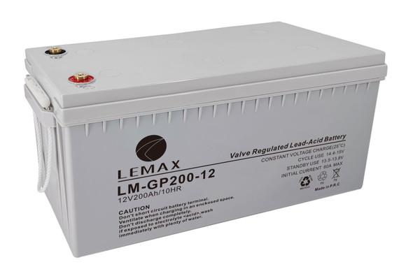 General Purpose Battery (GP) LM-GP- 12V200AH -VRLA Battery for UV Light (Medical Equipment)