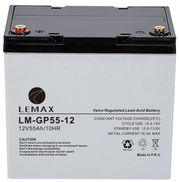 General Purpose Battery (GP) LM-GP- 12V55A