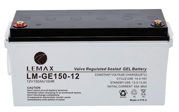 LEMAX GEL Battery LM-GE-12V150AH