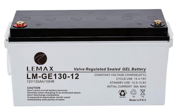 LEMAX GEL Battery LM-GE-12V130AH