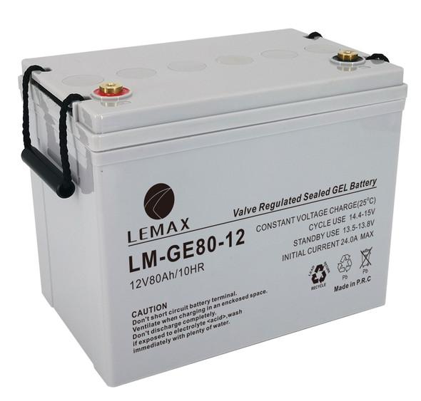 LEMAX GEL Battery LM-GE-12V80AH