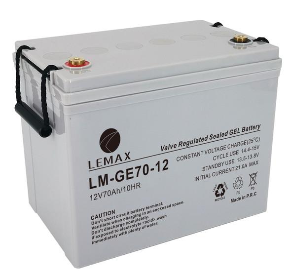 LEMAX GEL Battery LM-GE-12V70AH