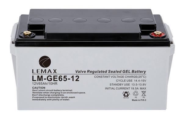 LEMAX GEL Battery LM-GE-12V65AH