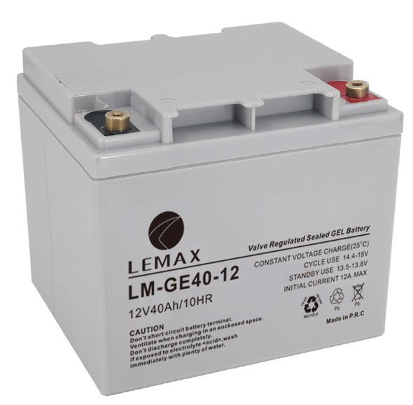 LEMAX GEL Battery LM-GE-12V40AH