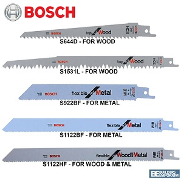 Bosch Sabre saw blade S 1122 HF